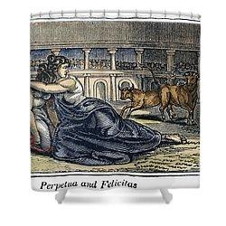 Rome: Perpetua & Felicitas Shower Curtain by Granger