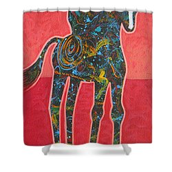 Rope One Shower Curtain by Lance Headlee
