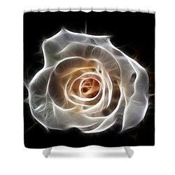 Rose Of Light Shower Curtain