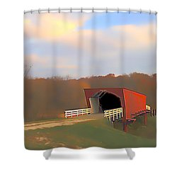 Roseman Bridge Of Clint Eastwood Fame Shower Curtain