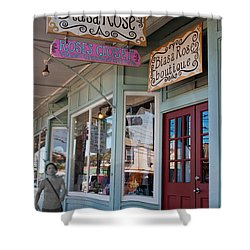 Rose's Closet - Paia Shower Curtain by Paulette B Wright