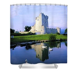 Ross Castle, Lough Leane, Killarney Shower Curtain by The Irish Image Collection