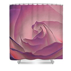 Rosy Daydreamer Shower Curtain
