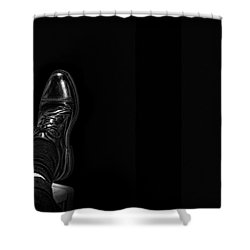 Shower Curtain featuring the photograph Rough Day by Tom Gort