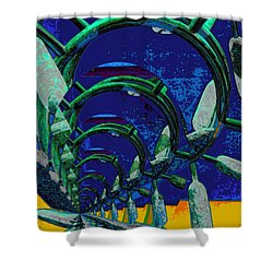 Route 66 2050 Shower Curtain