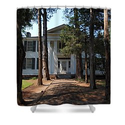 Rowen Oak Porch Shower Curtain