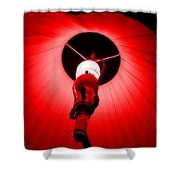 Roxannes Red Light Shower Curtain by Shana Rowe Jackson