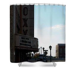 Roxy Regional Theater Shower Curtain by Ed Gleichman