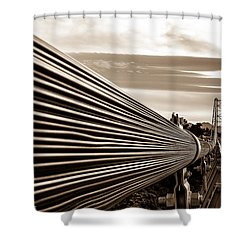 Royal Gorge Bridge Shower Curtain
