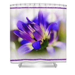 Shower Curtain featuring the photograph Royal Purple by Judi Bagwell
