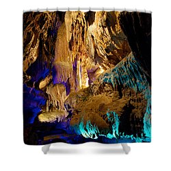 Ruby Falls Cavern 2 Shower Curtain by Mark Dodd