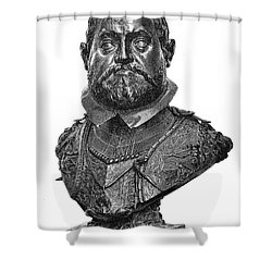 Rudolf II (1552-1612) Shower Curtain by Granger