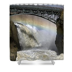 Rushing Waters Shower Curtain