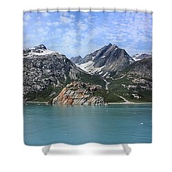Russell Island Shower Curtain by Kristin Elmquist