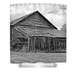 Rustic Charm Monochrome Shower Curtain by Steve Harrington