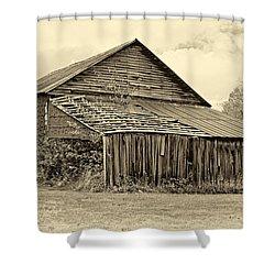 Rustic Charm Sepia Shower Curtain by Steve Harrington