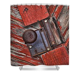 Rusty Dusty And Musty Shower Curtain by Kathy Clark