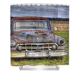Rusty Old Cadillac - Torcwori Shower Curtain