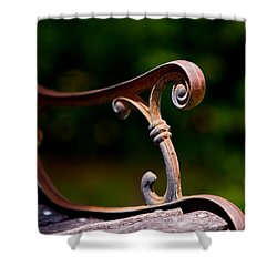 Rusty Rest Shower Curtain by Christopher Holmes