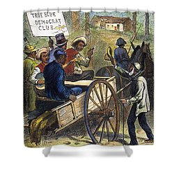 S. Carolina: Elections, 1876 Shower Curtain by Granger