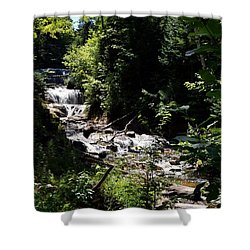 Sable Falls Grand Marais Mi Shower Curtain