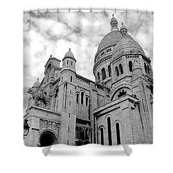 Sacre Coeur Shower Curtain