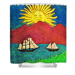 Safe Harbor Shower Curtain by Bill Cannon