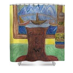 Sail A Head  Shower Curtain
