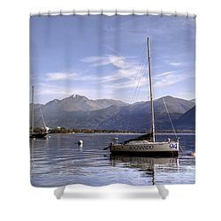 Sailing Boats Shower Curtain by Joana Kruse