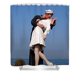 Sailor's Kiss Shower Curtain