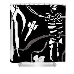 Saint Bartholomew Shower Curtain
