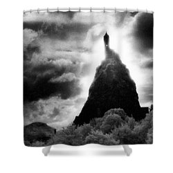 Saint Michaels Church Shower Curtain by Simon Marsden