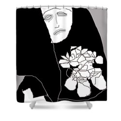 Saint Theresa 2 Shower Curtain
