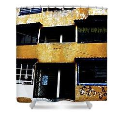 Salsa Shower Curtain by Jerry Cordeiro