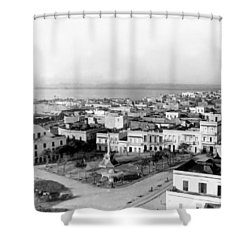 San Juan - Puerto Rico - C 1900 Shower Curtain by International  Images