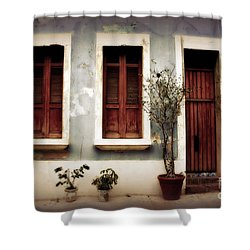 San Juan Living Shower Curtain by Perry Webster