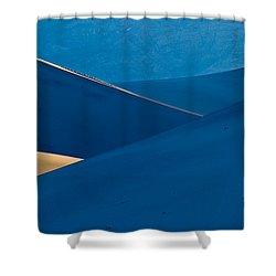 Sand Dunes Sunrise Shower Curtain by Steve Gadomski