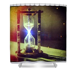 Sand Through Hourglass Shower Curtain