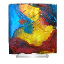 Sangria Dreams Shower Curtain