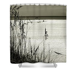 Sanibel Island Florida Shower Curtain by Susanne Van Hulst