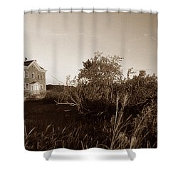 Saugerties Lighthouse Shower Curtain by Skip Willits