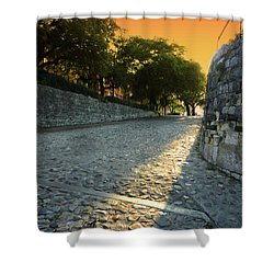 Shower Curtain featuring the photograph Savannah Sunset by Paul Mashburn