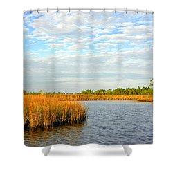 Sawgrass Creek L Shower Curtain