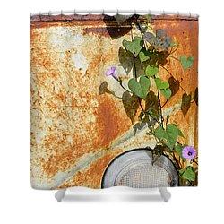 Say Goodbye Shower Curtain by Carolyn Marshall
