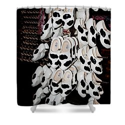 Shower Curtain featuring the digital art Scenes From Amsterdam by Carol Ailles