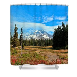 Scenic Mt. Hood In Oregon Shower Curtain by Athena Mckinzie