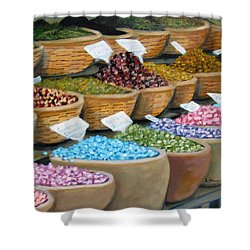 Scents For The Senses Shower Curtain