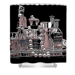 Shower Curtain featuring the photograph Scents Of A Woman Abstract by DigiArt Diaries by Vicky B Fuller