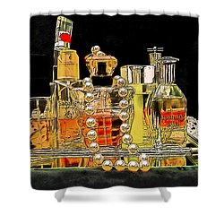 Shower Curtain featuring the photograph Scents Of A Woman by DigiArt Diaries by Vicky B Fuller