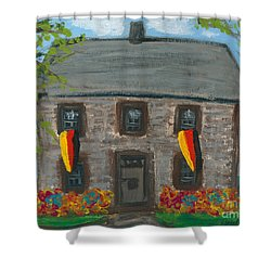 Schifferstadt Architectural Museum II Shower Curtain by Ania M Milo